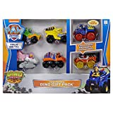 Paw Patrol True Metal Dino Rescue Collectible Die-Cast Vehicles Exclusive Gift Pack - 6 Vehicles