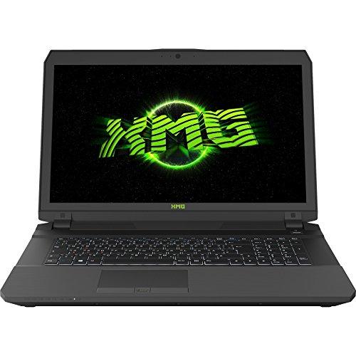 XMG P707-bsv PRO Gaming Laptop (17,3 Zoll Full HD IPS, GTX 1070 G-SYNC, Intel Core i7-6700HQ, 16GB (2x8) RAM, 250GB SSD, 1000GB HDD 7200rpm, Windows 10 Home) Schwarz