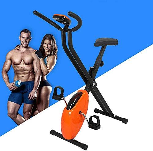 GRXIN Indoor-Heimtrainer Spinning Bike Verstellbar,Indoorfahrradtrainingsgerät Mit Widerstandsanpassungstaste Und Elektronischem LED-Zifferblatt,Für Fitnessbegeisterte