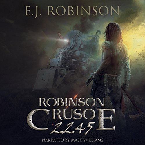 Robinson Crusoe 2245 audiobook cover art