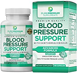 ✅ SUPPORT CIRCULATORY & HEART HEALTH NATURALLY with the PurePremium high blood pressure supplement, which contains natural anti-hypertensive herbal compounds and essential vitamins for heart health. ✅ HELP MAINTAIN BALANCED & HEALTHY BLOOD PRESSURE L...
