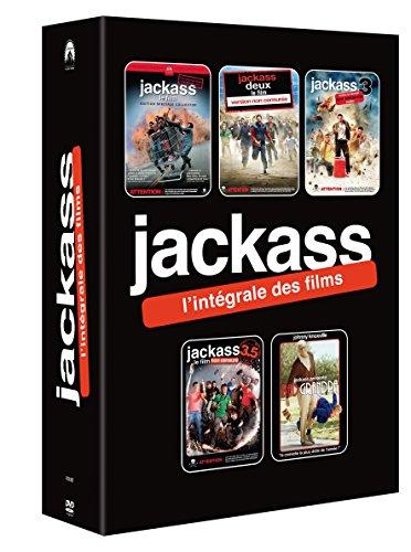 COFFRET JACKASS - 5 DVD - Jackass 1, 2, 3, 3.5 - Jackass Presente Bad Grandpa