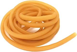 HONBAY 3 Meters 6x9mm Natural Latex Rubber Band Tube for Slingshot Catapult Elastic Parts Outdoor Hunting