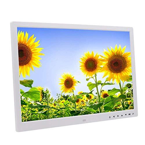 BAQQ Marco de Fotos Digital de 17'- Pantalla HD de Pantalla táctil LED IPS de Alta resolución de 1440 x900, Vista previa de Imagen con rotación automática - Reproductor publicitario de Pared 108