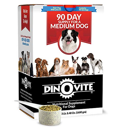 Top 10 best selling list for dinovite nutritional supplement for dogs