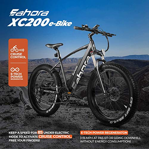 eAhora X5 Plus Electric Bikes for Adults
