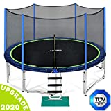 Zupapa 15 14 12 FT TUV Approved Trampoline with Enclosure net and...