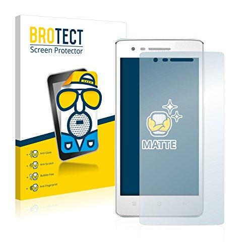 BROTECT 2X Entspiegelungs-Schutzfolie kompatibel mit Oppo Mirror 3 Bildschirmschutz-Folie Matt, Anti-Reflex, Anti-Fingerprint