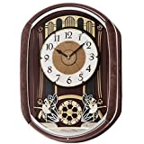 Seiko QXM297BRH Melodies in Motion Collection Melodies Clock
