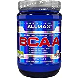 ALLMAX Nutrition BCAA, Instantized 2:1:1 Ratio, Unflavored Powder, 400 g