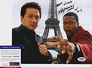 Jackie Chan Signed Autograph 8x10 Photo PSA/DNA COA #1
