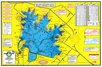 fayette county lake topographic map