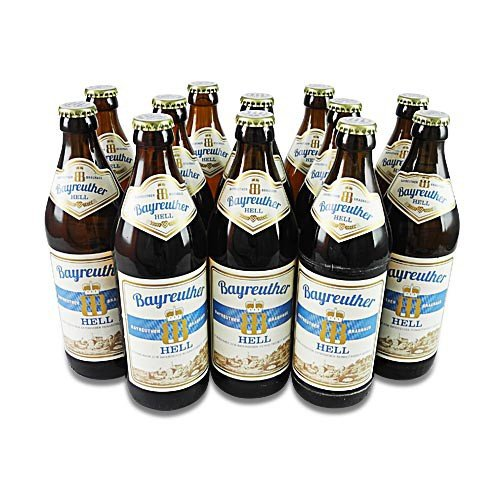 Bayreuther Hell (12 Flaschen à 0,5 l / 4,8% vol.)