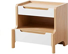 Bedroom Furniture Nightstand Simple Modern Wooden Assembled Bedroom Bedside Table Nordic Bedside Small Storage Cabinet Cre...