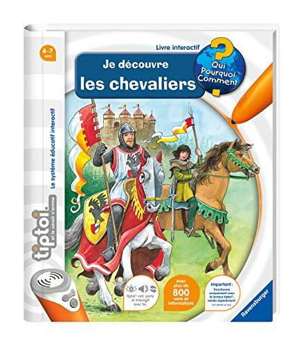 Ravensburger - Livre interactif tiptoi - Je découvre les chevaliers - Jeux électroniques éducatifs sans écran en français - A partir de 4 ans - 00603