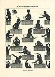 World of Art Poster-Nachdruck, Otto Böhler Schattenbilder,