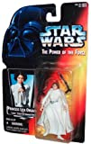 Star Wars Year 1995 The Power of the Force 4 Inch Tall Action Figure - Princess LEIA ORGANA with