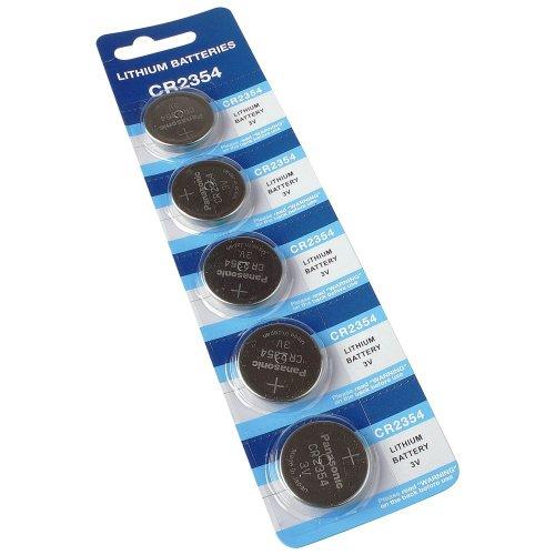 Panasonic CR2354 - Lithium Batterie Pile Bouton 3V Blister De 5 Pièces