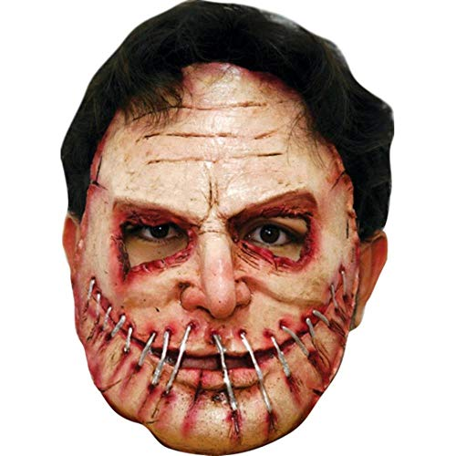 MNBVC Mouth Sewn Halloween Mask