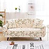 WXQY Funda de sofá Impresa de Lujo elástica Todo Incluido Antideslizante Resistente al Desgaste Estilo nórdico clásico Funda de sofá Funda de sofá A7 3 plazas