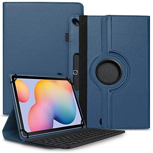 Tablet Hülle kompatibel für Xiaomi Mi Pad 5 / Pro Tasche Schutzhülle Bluetooth Hülle Universal Keyboard Cover Standfunktion 360° Drehbar, Farben:Blau