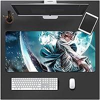MYDFGアニメマウスパッド大型マウスパッドコンピューターキーボードパッド滑らかな表面の滑り止めラバーベースデスクマットゲーム用MacbookPcラップトップBeautifulGirl-1