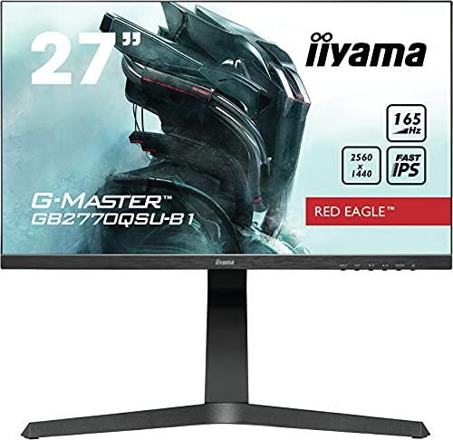 liyama GB2770QSU-B1-27, Écran PC IPS, 2560 x 1440/165 Hz, 1H1DP