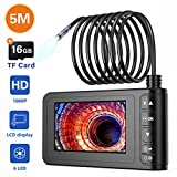Industrial Endoscope, SKYBASIC 1080P HD Digital Borescope Camera Waterproof...