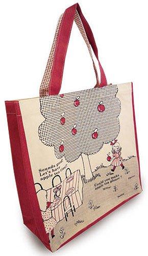 Shinzi Katoh sac fourre-tout: conception pomme