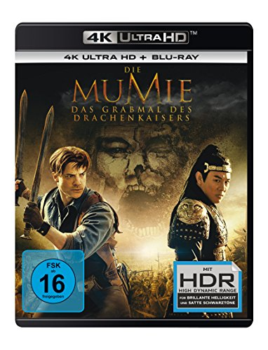 Die Mumie - Das Grabmal des Drachenkaisers (4K Ultra HD) (+ Blu-ray)