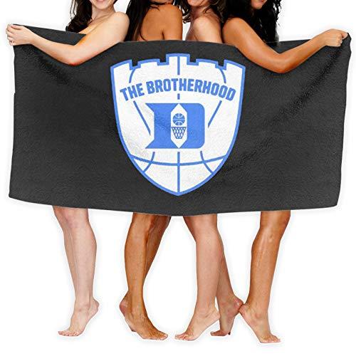 Duke Brotherhood - Toalla de baño de baloncesto (secado rápido)