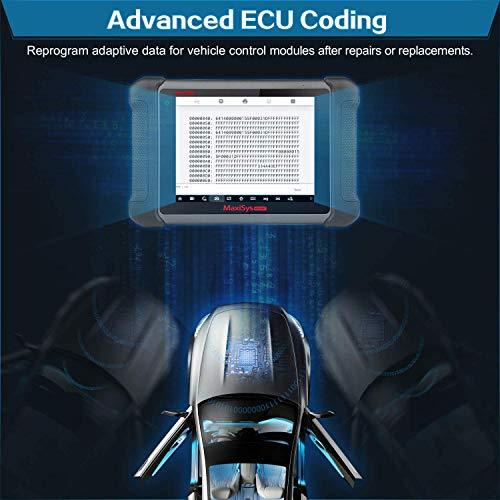 Autel Maxisys MS906BT Automotive Scan Tool with MV108, 2021 Newest Diagnostic Scanner, All System Diagnostics & 31 Services, ECU Coding, Bi-Directional Control Oil Reset, EPB, Advanced Ver. of MS906