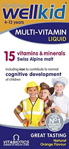Vitabiotics Wellkid Multivitamin Liquid, 150 ml