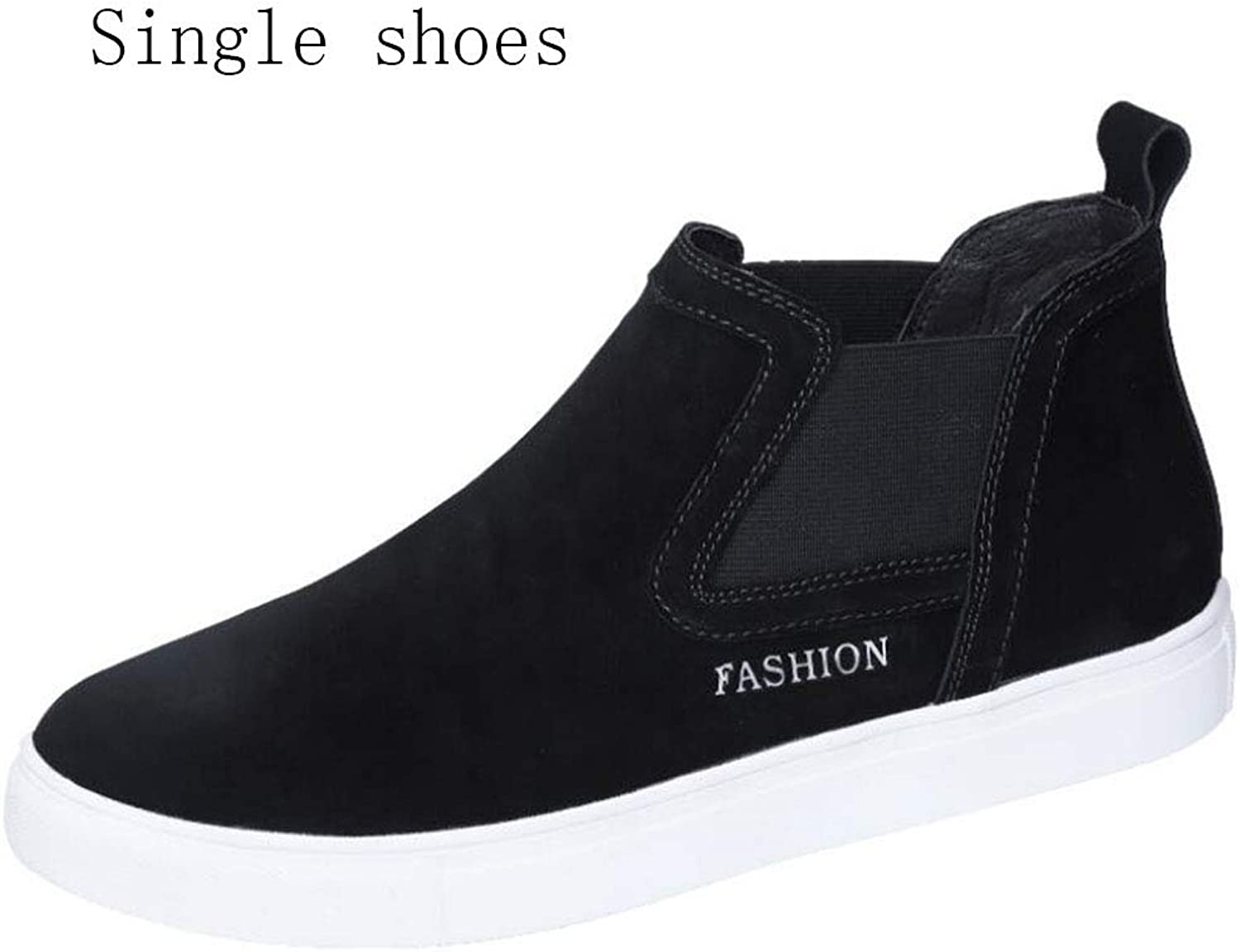 Men's Platform shoes Spring Fall Comfort Sneakers Walking shoes,Running shoes,Flat Loafers,Comfort High-Top Sneakers,Casual Travel,Rounded Toe,B,39