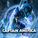 Captain America: 2021-2022 OFFICIAL Calendar, 18 Months from 1 Jun 2021 to 31 Dec 2022 with glossy paper