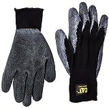 Cat Gloves Rainwear Boss Mfg Extra Large Cotton Latex Coated Palm Gloves CAT01 [並行輸入品]