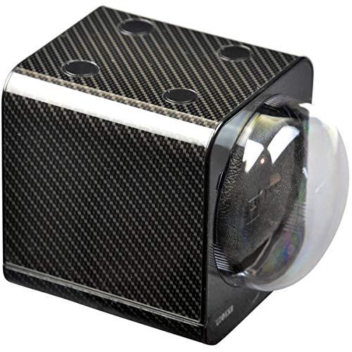 Boxy Fancy Brick Carbon–Uhrenbeweger inklusive.Adapter für das Vereinigte Königreich–von Beco Technic–modulares System–Strom-Tausch-Technologie–programmierbar–hohe Qualität.