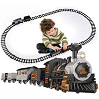 iHaHa Battery-Powered Christmas Train Set with Light & Sounds