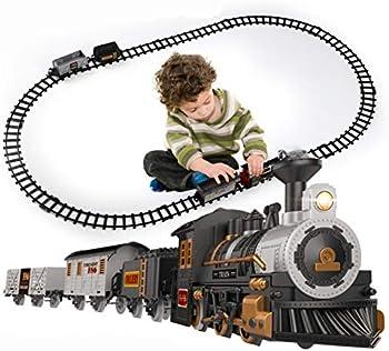 iHaHa Battery-Powered Christmas Train Set with Light & Sounds
