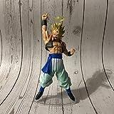 Dragon Ball Angel Gogeta Vegeta Son Goku Figura De Acción 21Cm,Fusion Super Saiyan Chocolate Figur...