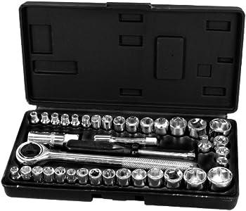 Performance Tool 1950 40-Piece Socket Set
