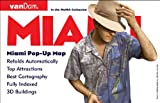 Miami Pop-Up Map by VanDam –– Laminated pocket-size pop-up map to Miami & Dade County, FL complete with all attractions, sights, museums, ferries, hotels, beaches and shopping