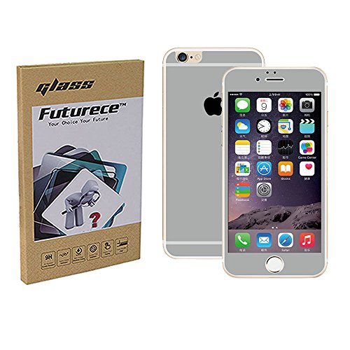 """Grey Colorful Tempered Glass Screen Protector For iPhone 6 / iPhone 6S Security Guard Film Anti Bubble Extreme Clarity Shield Anti Scratch Fingerprint Resistant Explosion Proof Oleophobic 4.7""""Screen"""