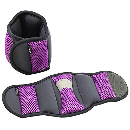 Empower Ankle/Wrist Weights, 3-Pound, Purple