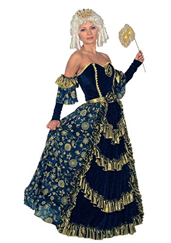 Fiori Paolo-GR5198.L Baronesa Venezia Disfraz de Carnaval Atelier, multicolor, Ciao Srl GR5198