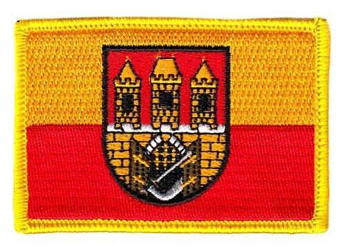 Flaggen Aufnäher Patch Tschechien - Prag Fahne Flagge