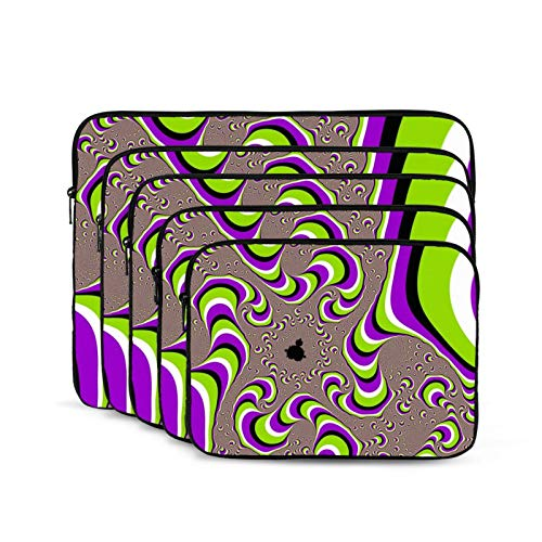 Colorful Fantasy Picture Laptop Sleeve 15 inch, Shock Resistant Notebook Briefcase, Computer Protective Bag, Tablet Carrying Case for MacBook Pro/MacBook Air/Asus/Dell/Lenovo/Hp/Samsung/Sony
