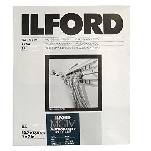 Ilford Multigrade IV RC Deluxe - Papel (Satinado mate, 190 g/m², 25 hojas)