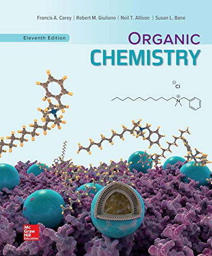 Compare Textbook Prices for Solutions Manual for Organic Chemistry 11 Edition ISBN 9781260506518 by Carey, Francis