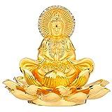 Feng Shui Golden Eight Treasure Lotus Double Buddhistische Avalokitesvara Aromatherapie